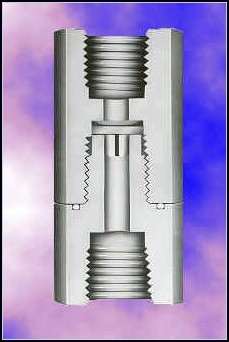 Series CKD for check valves that perform well in very low flow applications