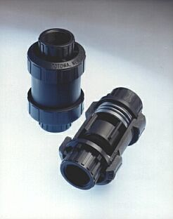 Series CKS is a normally closed check valve that provides a bubble tight seal and absolutely prevents reverse flow