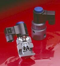 Series EAST is a premium, PTFE-bellows sealed solenoid valve