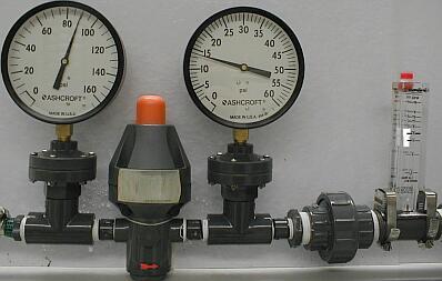 plast o matic valves inc photographic test results comparing plastic pressure regulator. Black Bedroom Furniture Sets. Home Design Ideas