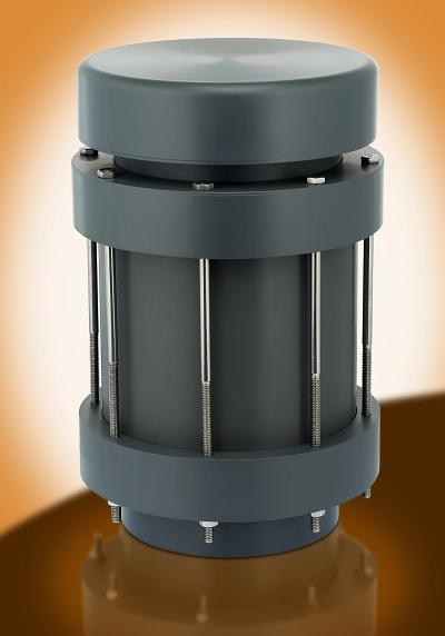 Thermoplastic vacuum breakers pvc cpvc pvdf pp