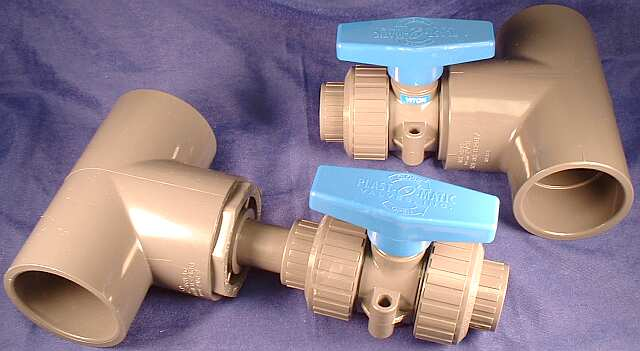 lmbv compared with traditional reducer bushing & piping installation of ball valve for lateral drops