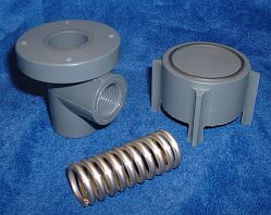 parts for plastic valves